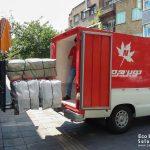 ویدیو تولید کیف های شرکت نوین چرم