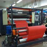 Six in one non woven flat bag making machine
