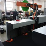 The latest generation of non woven BOX BAG making machine