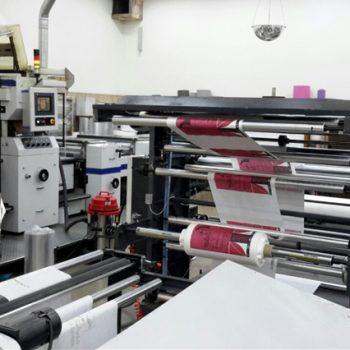 چاپ فلکسو به صورت رول به رول تا عرض 160 سانتی متر