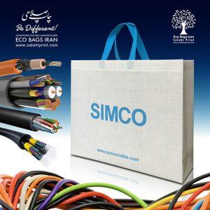 چاپ کیسه های نانوون محصولات simco
